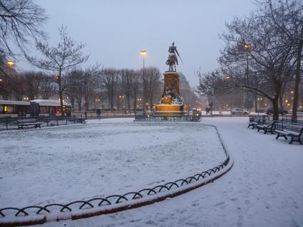 Lille - neige